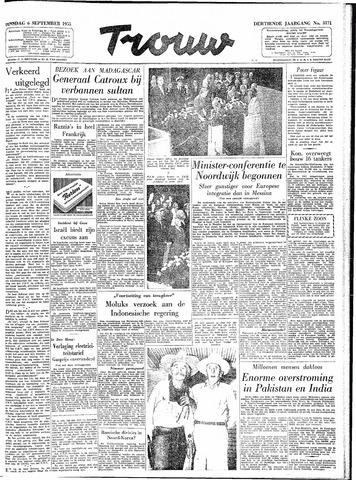 Trouw / De Rotterdammer 1955-09-06