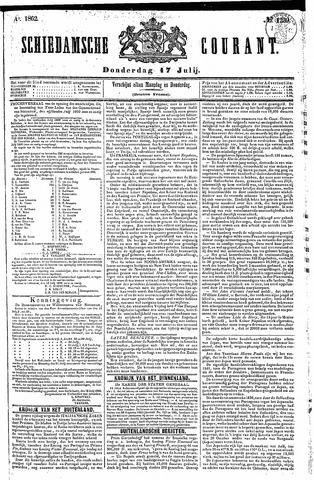 Schiedamsche Courant 1862-07-17