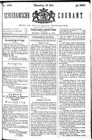 Schiedamsche Courant 1879-05-12