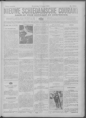 Nieuwe Schiedamsche Courant 1929-02-07