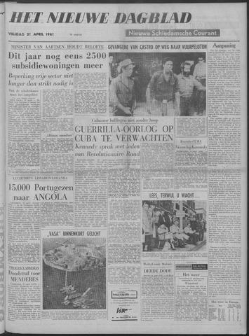 Nieuwe Schiedamsche Courant 1961-04-21