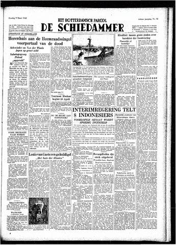 Rotterdamsch Parool / De Schiedammer 1948-03-09