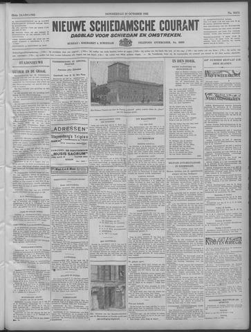 Nieuwe Schiedamsche Courant 1932-10-27