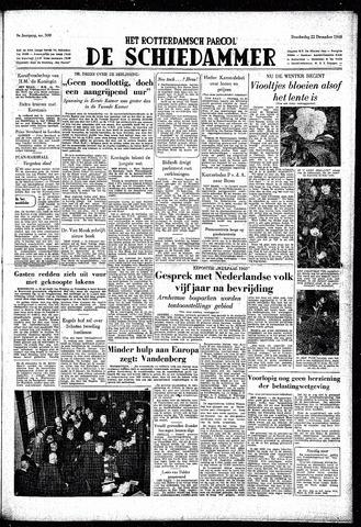 Rotterdamsch Parool / De Schiedammer 1949-12-22
