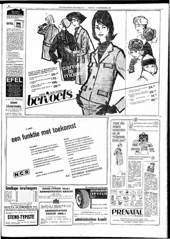 Rotterdamsch Nieuwsblad / Schiedamsche Courant / Rotterdams Dagblad / Waterweg / Algemeen Dagblad 1964-09-18