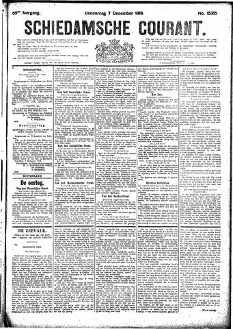 Schiedamsche Courant 1916-12-07
