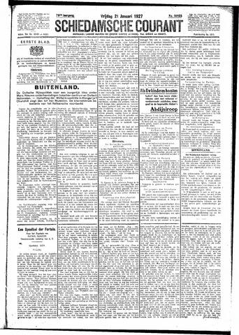 Schiedamsche Courant 1927-01-21