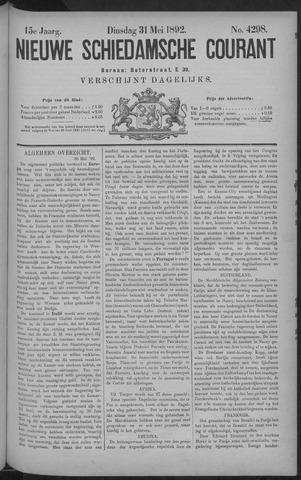Nieuwe Schiedamsche Courant 1892-05-31