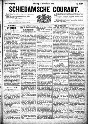 Schiedamsche Courant 1916-11-14