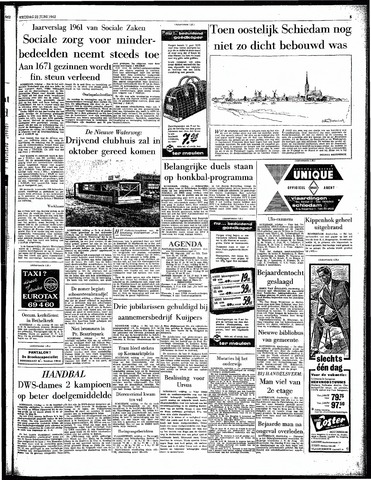 Rotterdamsch Parool / De Schiedammer 1962-06-22