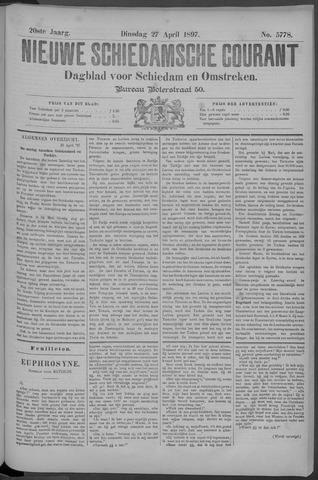 Nieuwe Schiedamsche Courant 1897-04-27