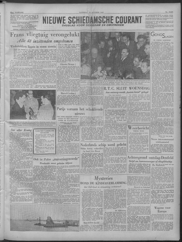 Nieuwe Schiedamsche Courant 1949-10-29
