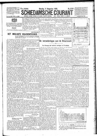 Schiedamsche Courant 1931-08-11