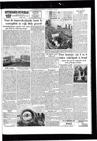 Rotterdamsch Nieuwsblad / Schiedamsche Courant / Rotterdams Dagblad / Waterweg / Algemeen Dagblad 1964-06-11