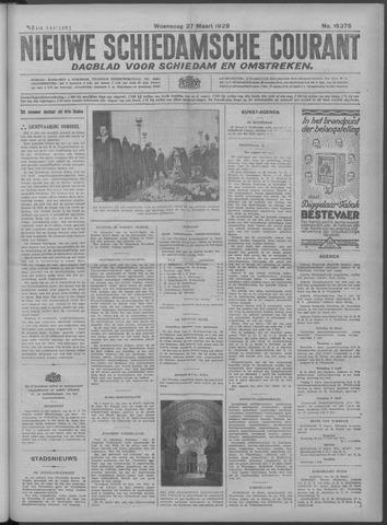Nieuwe Schiedamsche Courant 1929-03-27
