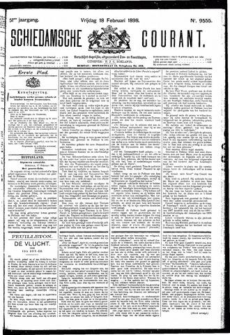 Schiedamsche Courant 1898-02-18