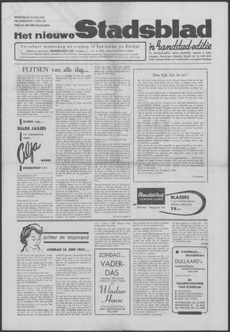 Het Nieuwe Stadsblad 1963-06-12