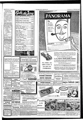 Rotterdamsch Nieuwsblad / Schiedamsche Courant / Rotterdams Dagblad / Waterweg / Algemeen Dagblad 1953-02-25