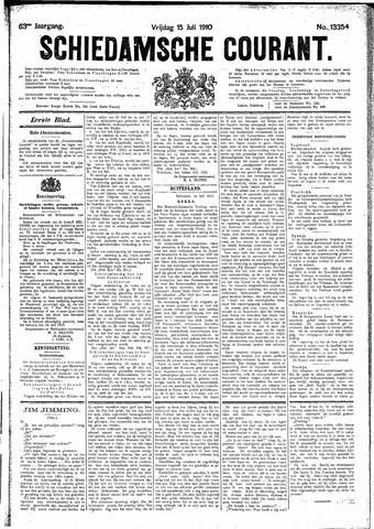 Schiedamsche Courant 1910-07-15