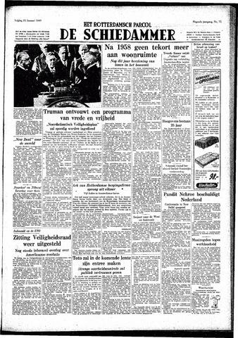 Rotterdamsch Parool / De Schiedammer 1949-01-21