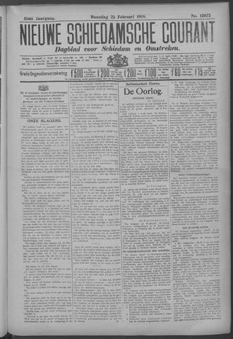 Nieuwe Schiedamsche Courant 1918-02-25