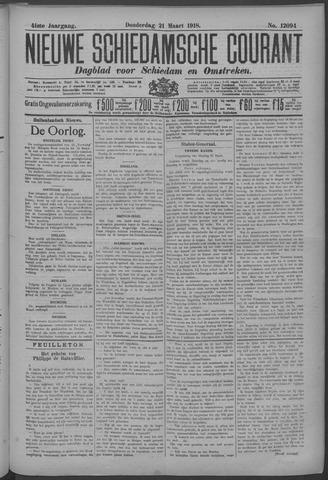 Nieuwe Schiedamsche Courant 1918-03-21