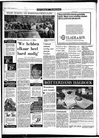 Rotterdamsch Parool / De Schiedammer 1968-09-20