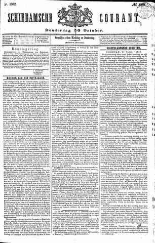 Schiedamsche Courant 1862-10-30