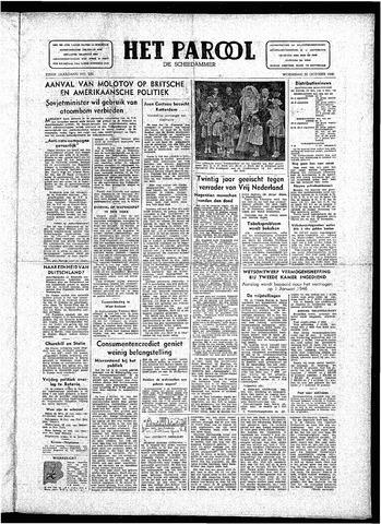 Rotterdamsch Parool / De Schiedammer 1946-10-30