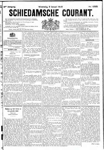 Schiedamsche Courant 1908-01-08