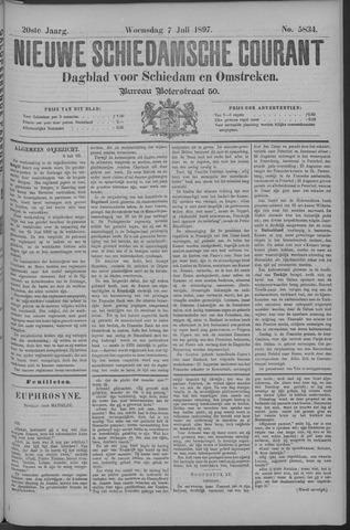 Nieuwe Schiedamsche Courant 1897-07-07
