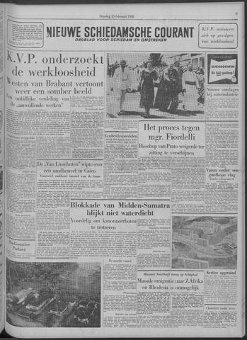 Nieuwe Schiedamsche Courant 1958-02-25