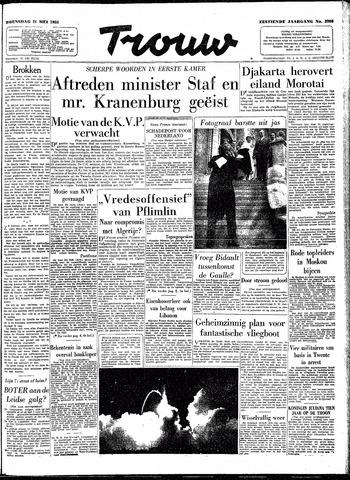 Trouw / De Rotterdammer 1958-05-21