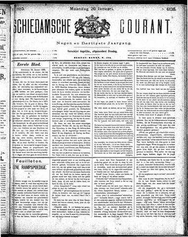 Schiedamsche Courant 1885-01-26
