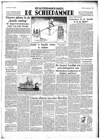 Rotterdamsch Parool / De Schiedammer 1948-07-17