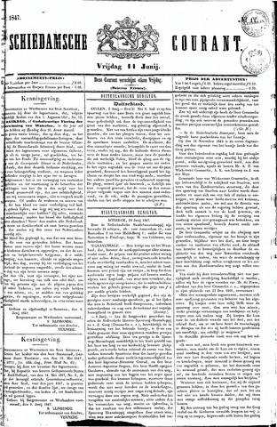 Schiedamsche Courant 1847-06-11