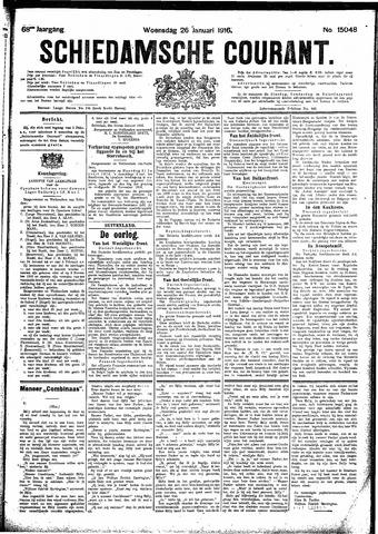 Schiedamsche Courant 1916-01-26