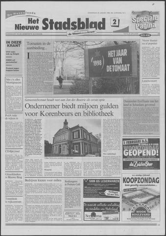 Het Nieuwe Stadsblad 1998-01-29