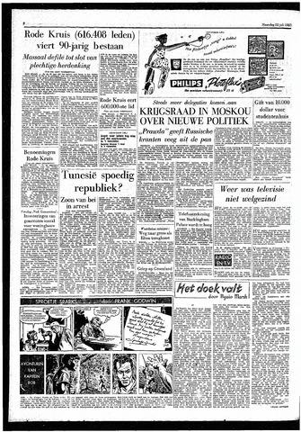Rotterdamsch Parool / De Schiedammer 1957-07-22