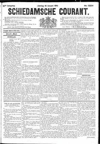 Schiedamsche Courant 1910-01-16
