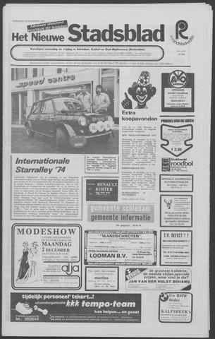 Het Nieuwe Stadsblad 1974-11-20