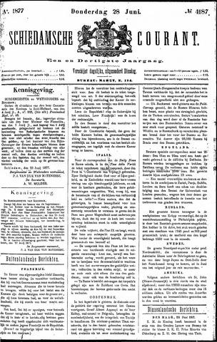 Schiedamsche Courant 1877-06-28