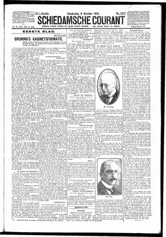 Schiedamsche Courant 1931-10-08