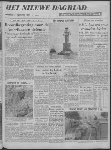 Nieuwe Schiedamsche Courant 1961-08-05