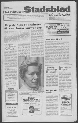 Het Nieuwe Stadsblad 1970-01-09