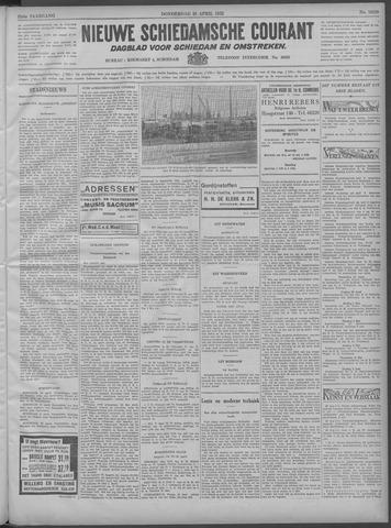 Nieuwe Schiedamsche Courant 1932-04-28