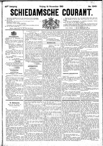 Schiedamsche Courant 1910-11-18