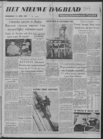 Nieuwe Schiedamsche Courant 1961-04-13