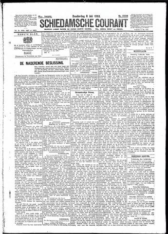 Schiedamsche Courant 1933-07-06