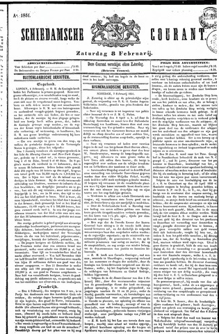Schiedamsche Courant 1851-02-08